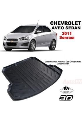 AutoEN Chevrolet Aveo Sedan 3D Bagaj Havuzu 2011 ve üzeri