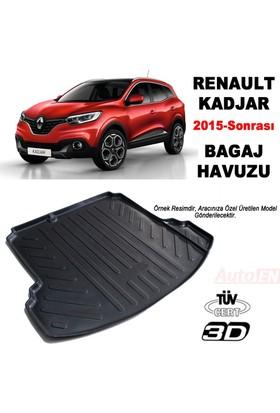 AutoEN Renault Kadjar 3D Bagaj Havuzu