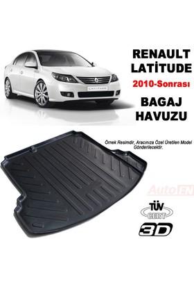 AutoEN Renault Lattitude 3D Bagaj Havuzu