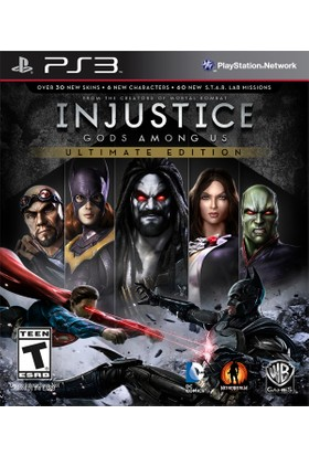 Injustice Ultimate Edition Ps3