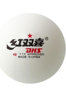 DHS 40+ 10lu Tek Yıldız Masa Tenisi Antrenman Topu