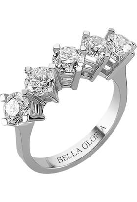 Bella Gloria 2,01ct Pırlanta Beştaş Alyans (AL15003)