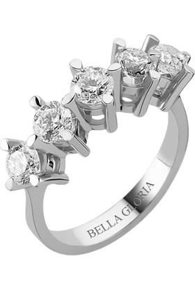 Bella Gloria 1,51ct Pırlanta Beştaş Alyans (AL15014)