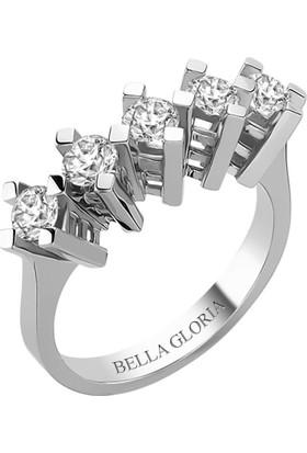 Bella Gloria 1,01ct Pırlanta Beştaş Alyans (AL15018)