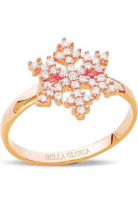 Bella Gloria Altın Rose Kartanesi Yüzük (PR78069)