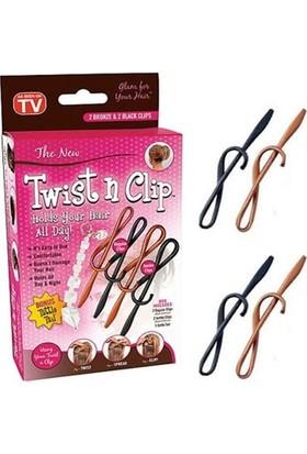 Pratik Twist n Clip Saç Şekillendirme Seti