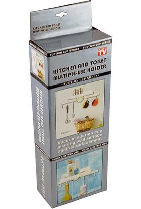 Pratik Çok Fonksiyonlu Banyo ve Tuvalet Tutacak ve Raf