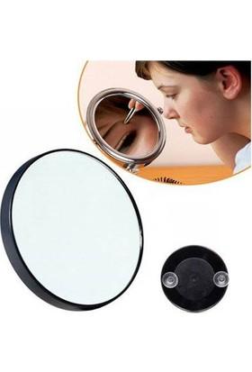 Pratik Çukur Ayna Makyaj Aynası 10x Büyüteçli