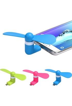 Pratik Telefonlar İçin Taşınabilir Usb Fan – Android