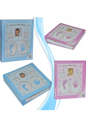 Pratik Yeni Doğan Bebek Albümü (120 Fotograflık)-Pembe