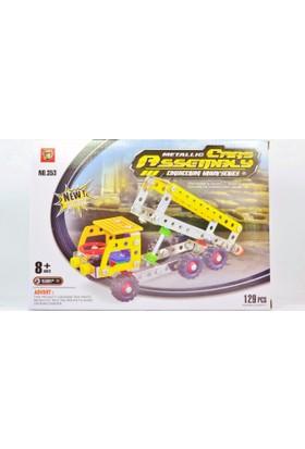 Pratik 129 Parça Metal Lego Kamyon - V43