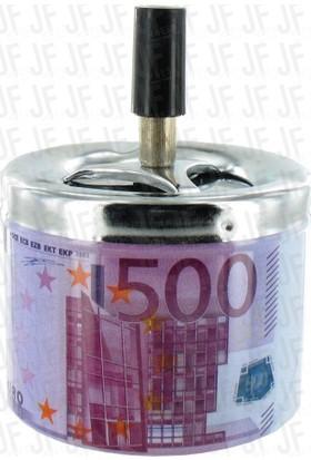 Pratik Euro Tasarımlı Metal Bas-Çek Küllük