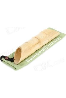 Pratik Bambu Akustik Iphone Ses Yükseltici