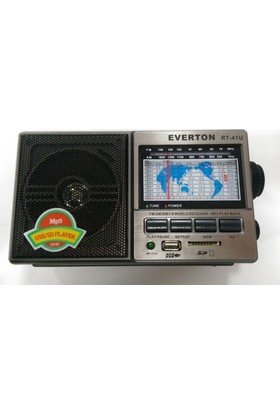 Everton Rt-41U Şarjlı Mp3 Çalar Radyo