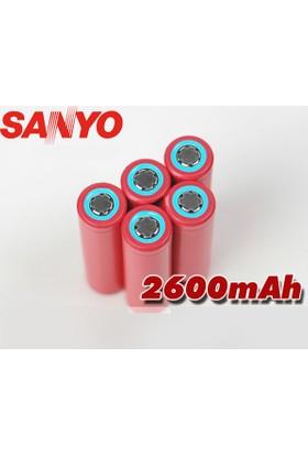 Sanyo 3.7V 2600Mah Ur18650Zy