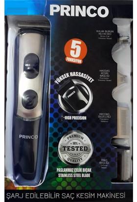 Princo Pr-520 Şarjlı Çok Fonksiyonlu 5 Li Set Tıraş Makinesi