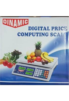 Kama Dinamic Elektronik Terazi Market Manav Terazi 40 Kg