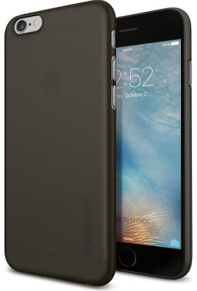 Spigen Apple iPhone 6S/6 Kılıf Air Skin Black - 035CS21187