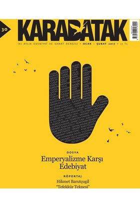Karabatak Dergisi 30. Sayısı