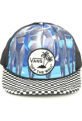 Vans V0Xyfwx Hank Foto Siyah Erkek Şapka
