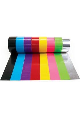 Duct Tape Renkli 48 mm * 10 mt Siyah