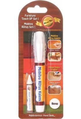Mobilya Rötuş Kalemi Tekli Beyaz