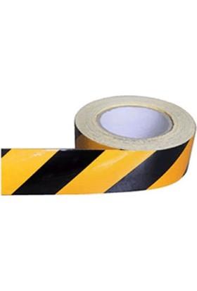 Bant Marketim Sarı-Siyah Reflektif Bant 50Mm X 46Mt