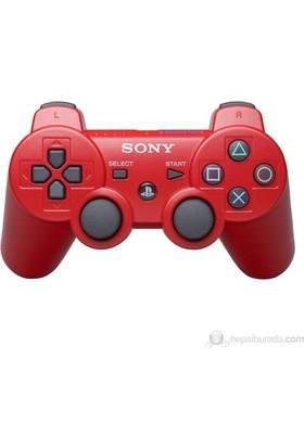 Sony Kırmızı PS3 Oyun Kolu - Wireless Controller