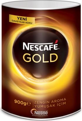 Nescafe Gold Çözünebilir Kahve 900 gr Teneke