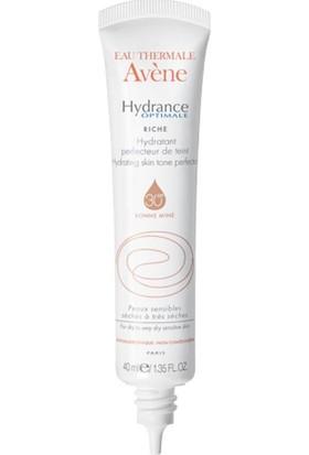 Avene Hydrance Optimale Perfecteur Riche Spf 30 40Ml Kuru Ciltler İçin Nemlendirici Cilt Tonu Düzenleyici