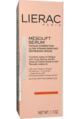 Lierac Mesolift Ultra Vitamın Enriched Fresh Serum