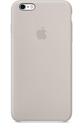 Apple iPhone 6/6S Plus Silikon Kılıf Taş (İthalatçı Garantili)