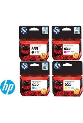Hp 655 Orjinal 4 Renk Set