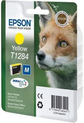 Epson T1284 Orjinal Sarı Kartuş
