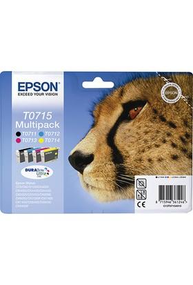 Epson T0715 Orjinal 4 Renk Set Kartuş