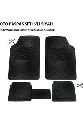 Tvet Fiat Linea İçin Oto Paspas Seti Plus Siyah