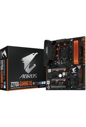 Gigabyte Aorus Z270X-Gaming K5 Intel Z270 3866MHz (OC) DDR4 Soket 1151 ATX Anakart