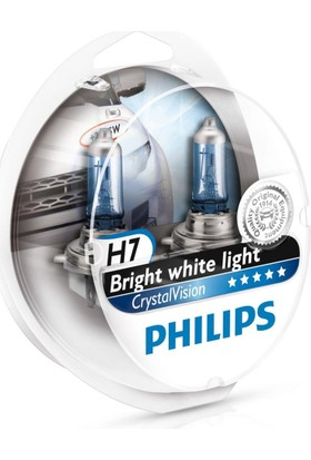 Philips H7 Tip Crystal Vısıon Ampül Seti 104928