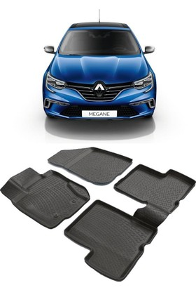 Modacar Renault Megane 4 Kasa 3D Havuzlu Paspas 105042