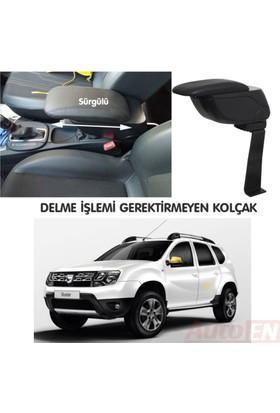 AutoEN Dacia Duster Kol Dayama Kolçak Siyah Delme Yok!