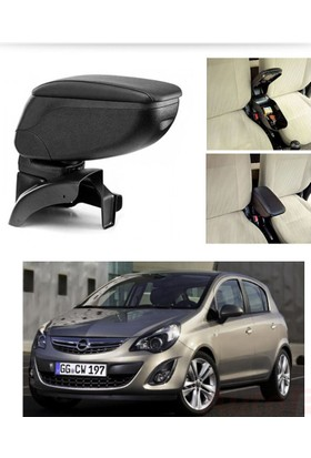 AutoEN Opel Corsa D 2007-2014 Kol Dayama Kolçak SİYAH