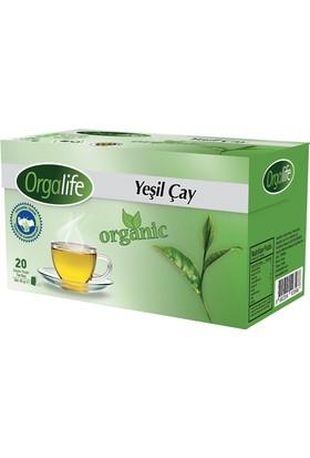 Orgalife Bardak Poşet Yeşil Çay 20'li