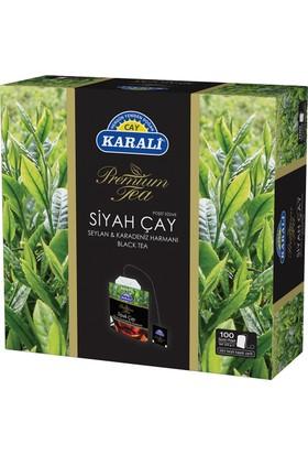 Premium Bardak Poşet Siyah Çay 100'lü