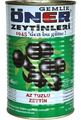Öner ZeytinÖner Az Tuzlu Siyah Zeytin 800gr