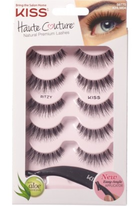 Kiss Haute Couture Rıtzy Kaliteli İnsan Saçı Takma Kirpik Khlm04 59775