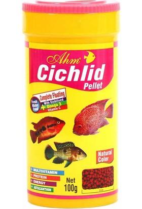 Ahm Cichlid Pellet Natural Colour 250 Ml.