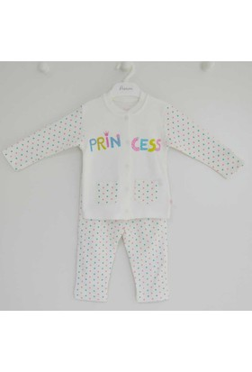 Premom PRE1136 Puantiyeli 2'li Bebek Takımı