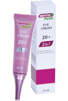 Softto Plus Göz Bakım Kremi +20 2in1