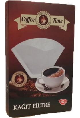 Coffee Time 1X2 Kahve Filtre Kağıdı 100X3 Toplamda 300 Adet