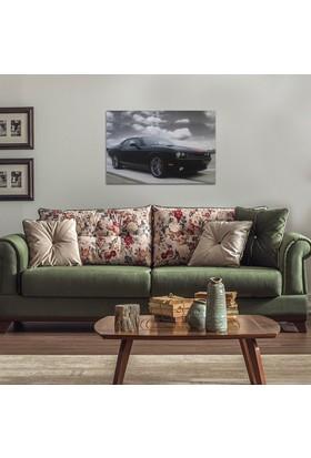 Decotime Dodge Challenger Led Işıklı Tablo 50X70